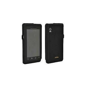 OEM Verizon Motorola Droid A855 Gel Snap On Case - Black (Bulk Packaging)