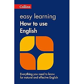 Collins Easy Learning - Collins Easy Learning How to Use English