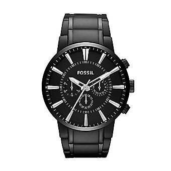 Fossil Analog Men with metal plated stainless steel FS4778