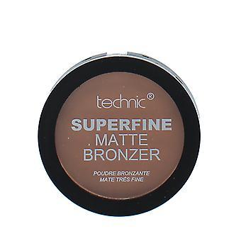 Technic Superfine Powder Matte Bronzer Compact ~ Dark