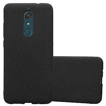 Cadorabo case for WIKO VIEW XL - mobile cover from TPU silicone mats frosted design - silicone case cover ultra slim soft back cover case bumper