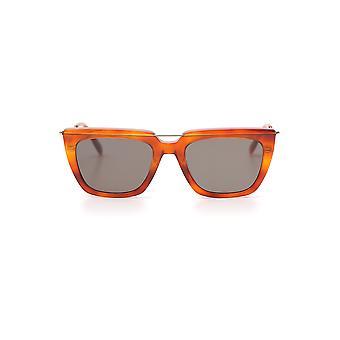 Alexander Mcqueen Orange Acetate Sunglasses