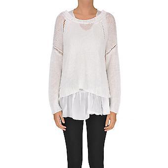 P.a.r.o.s.h. White Linen Sweater