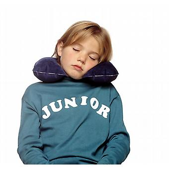 Kussen cervicale junior. (Sleepover Junior. Marine blauw)