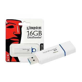 Pendrive Kingston 16 GB USB 3.0 white blue DTIG4