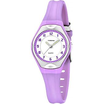 Calypso watch watches K5163-N - watch Silicone Violet woman