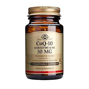 Solgar, Coenzyme Q-10 30 mg Vegetable Capsules , 30