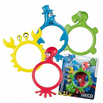 BeCo Monster buceo anillos 4 pack