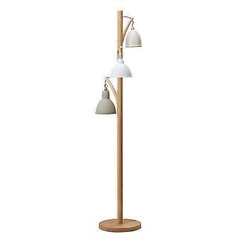 Blyton 3 ljus golvlampa komplett med målad nyans