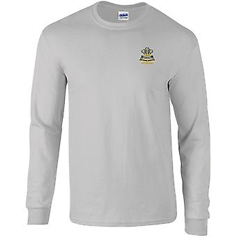 Royal Hussars PWO Veteran - Licensed British Army Embroidered Long Sleeved T-Shirt