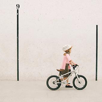 Closca fuga - barna sykkel hjelm - oransje - m