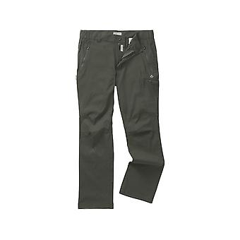 Craghoppers Kiwi Pro Stretch Mens Trousers Dark Khaki (R 34in)
