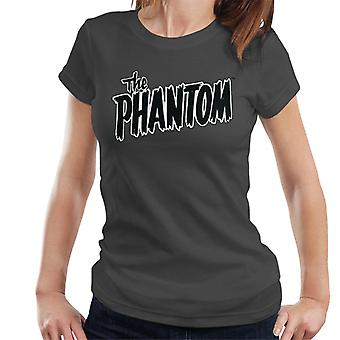 The Phantom Text Logo Women's T-Shirt