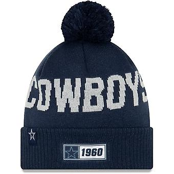 New Era Nfl Dallas Cowboys 2019 Sideline Road Sport Knit