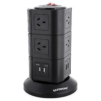 Safemore 3 Niveau Power Stackr Power Board en noir