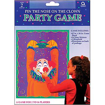 Party Game Pin The Nose On The Clown 27462