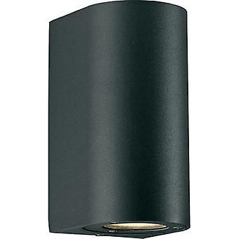 Outdoor wall light HV halogen GU10 70 W Nordlux Canto Maxi 77561003 Black