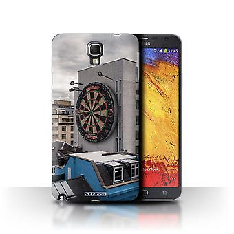STUFF4 Case/Cover for Samsung Galaxy Note 3 Neo/Bullseye/Imagine It