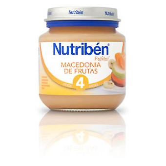 Nutribén Macedonia Fruit 130g (Childhood , Healthy diet , Pots)