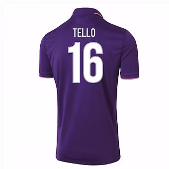 2016-17 Fiorentina Home Shirt (Tello 16)