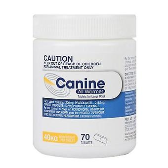 Canine Allwormer 40kg 70