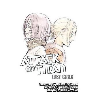 Attack On Titan Lost Girls by Hajime Isayama