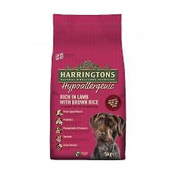 Harringtons komplet hund allergivenlige lam & ris 5kg