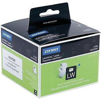 DYMO LabelWriter white name tags 89x41mm/300