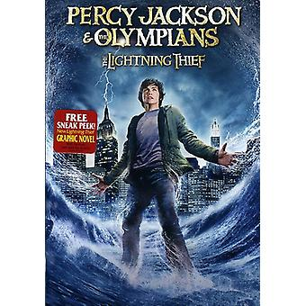 Percy Jackson & the Olympians: Lightning Thief [DVD] USA import