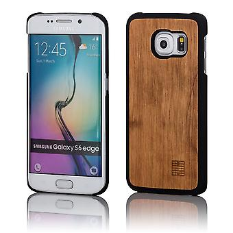 32nd Wooden Back case for Samsung Galaxy S6 Edge Plus (SM-G928) - Pear