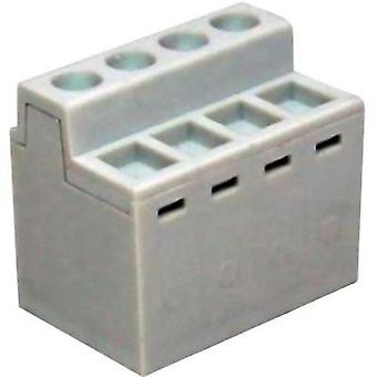 Spring-loaded terminal 2.50 mm² Number of pins 10 MB800-50010EC DECA Grey 1 pc(s)