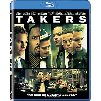 Takers [BLU-RAY] USA import