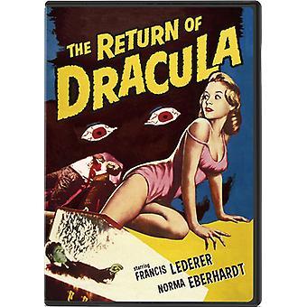 Return of Dracula [DVD] USA import