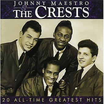 Crests - Johnny Maestro & the Crests-20 [CD] USA import