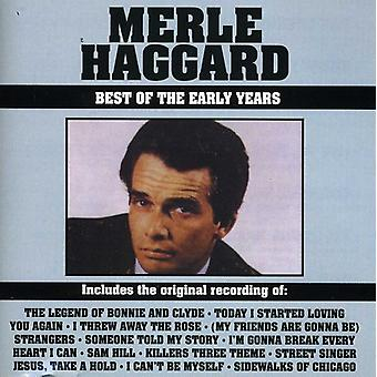 Merle Haggard - Best of the Early Years [CD] USA import