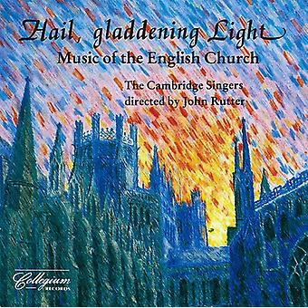 Purcell/Amner/Tomkins/Bairstow/Goss - Hail, Gladdening Light: Music of the English Church [CD] USA import