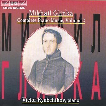 M. Glinka - Glinka: Complete Piano Music, Vol. 2 [CD] USA import