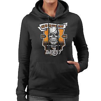 Tiger Rising Street Fighter Women's Hooded Sweatshirt