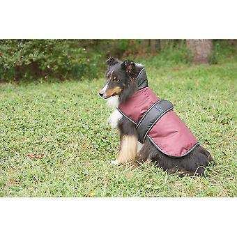 Dog Artic Coat-Burgundy Extra Extra Large 752528