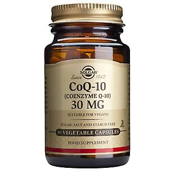 Solgar Coenzyme Q10 30 mg 30 Vegicap (Vitamines en Suplementen , Speciale supplementen)