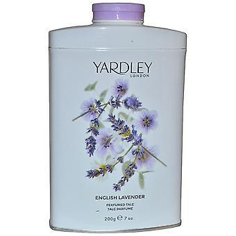 Yardley English Lavender parfümiertes Talkum 200g