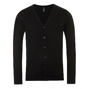 SOLS Mens Griffith V Neck Long Sleeve Cardigan