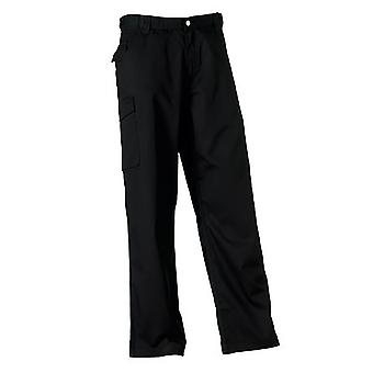 Russell Workwear Mens Polycotton Twill Trouser / Pants (Long)