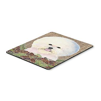 Carolines Treasures  SS4106MP Bichon Frise Mouse Pad, Hot Pad or Trivet