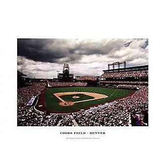 Coors Field Denver Poster Print von Ira Rosen (19 x 13)