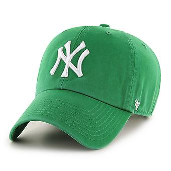 47 Brand MLB New York Yankees Clean Up Cap - Green