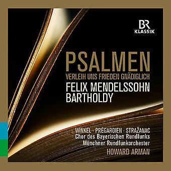 Bartholdy / Winkel / Arman - salmer [CD] USA import