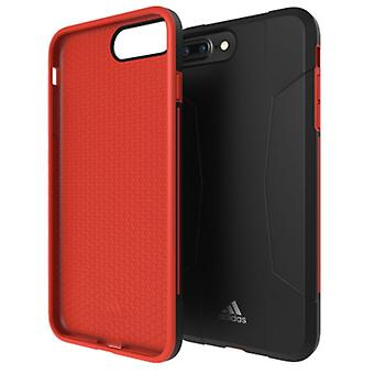 Adidas Originals Dual Layer Hard Case für Apple iPhone 8 7 6s 6 Plus Schutzhülle Cover Rot