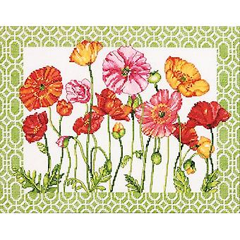 Poppy Pattern Counted Cross Stitch Kit-14