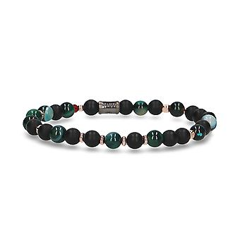Beamay men's 1752FORGIVENEROVER black bracelet
